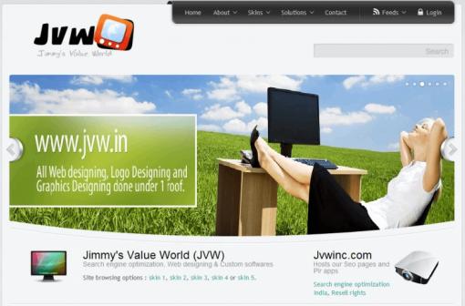 Niche website design