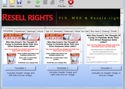 Resale Rights Software